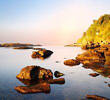 amazing morning on the wild coast by plamenx