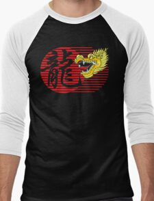 Chinese New Year Dragon Men's Baseball ¾ T-Shirt
