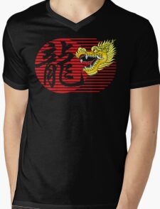 Chinese New Year Dragon Mens V-Neck T-Shirt