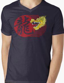 Chinese New Year Dragon Mens V-Neck T-Shirt