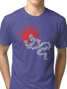 Chinese Dragon Tri-blend T-Shirt