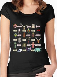 A Few Select Creatures Women's Fitted Scoop T-Shirt