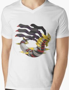 Giratina Mens V-Neck T-Shirt