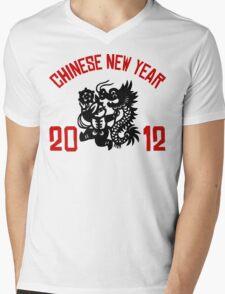 Chinese New Year 2012 Mens V-Neck T-Shirt