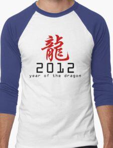 Chinese New Year 2012 Men's Baseball ¾ T-Shirt