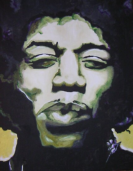 Jimi No. 5 by JenHeathHenry
