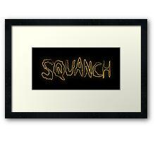 Rick & Morty-SQUANCH Framed Print