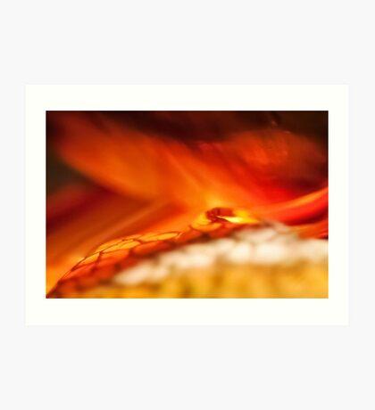Reality of Firelight Art Print