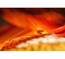 Reality of Firelight Photographic Print