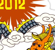 Year of The Dragon 2012 Sticker