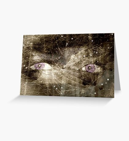 The Night Has 1000 Eyes Greeting Card