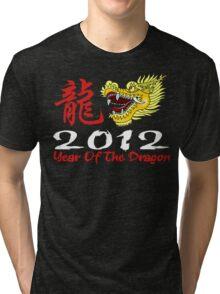Year of The Dragon 2012 Tri-blend T-Shirt