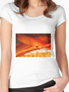 Reality of Firelight Women's Fitted Scoop T-Shirt