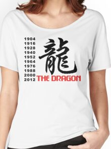 Chinese Zodiac Dragon Women's Relaxed Fit T-Shirt