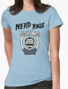 Nerd Rage Womens Fitted T-Shirt