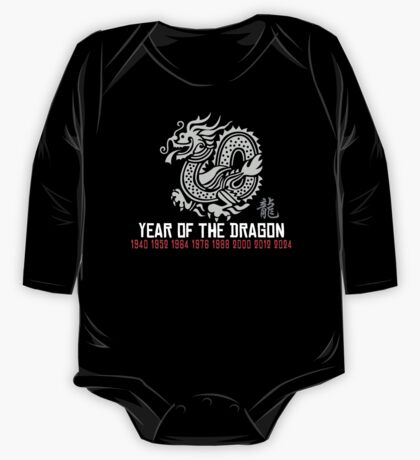 Year of The Dragon One Piece - Long Sleeve