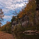 Buffalo River Reflections by Lisa G. Putman