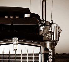 Truck driver by Valeriy  Pisanov