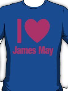 Top Gear - I LOVE JAMES MAY T-Shirt