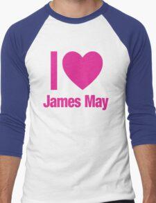Top Gear - I LOVE JAMES MAY Men's Baseball ¾ T-Shirt
