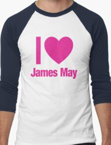 Top Gear - I LOVE JAMES MAY Men's Baseball ¾ T-Shirt