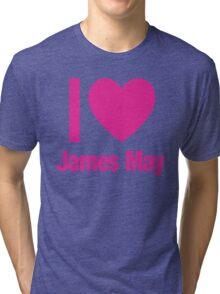 Top Gear - I LOVE JAMES MAY Tri-blend T-Shirt