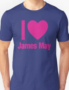Top Gear - I LOVE JAMES MAY Unisex T-Shirt