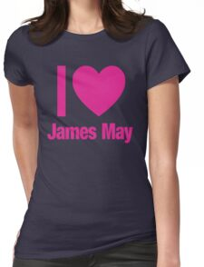 Top Gear - I LOVE JAMES MAY Womens Fitted T-Shirt