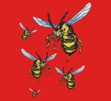 Bees One Piece - Short Sleeve