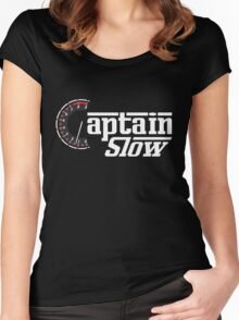 Top Gear - James May - Captain Slow Women's Fitted Scoop T-Shirt