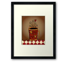 Java Love Framed Print