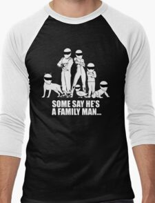 Top Gear - Some Say He's a Family Man... Men's Baseball ¾ T-Shirt