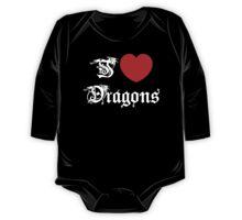 I Love Dragons One Piece - Long Sleeve