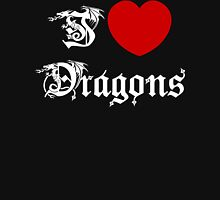 I Love Dragons Unisex T-Shirt