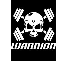 Skull Warrior  Photographic Print