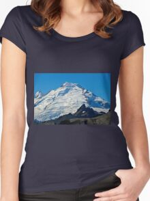 Mt Baker Women's Fitted Scoop T-Shirt