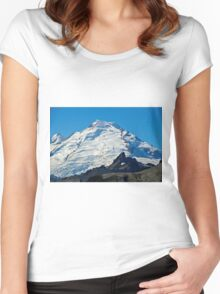 Mt Baker Women's Fitted Scoop T-Shirt