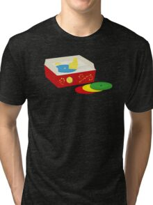 You never forget your first record collection Tri-blend T-Shirt