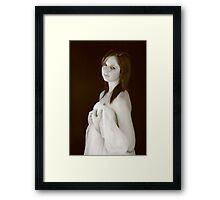 Zoe - The Gaze Framed Print