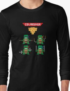 TMNT 8-bit Long Sleeve T-Shirt
