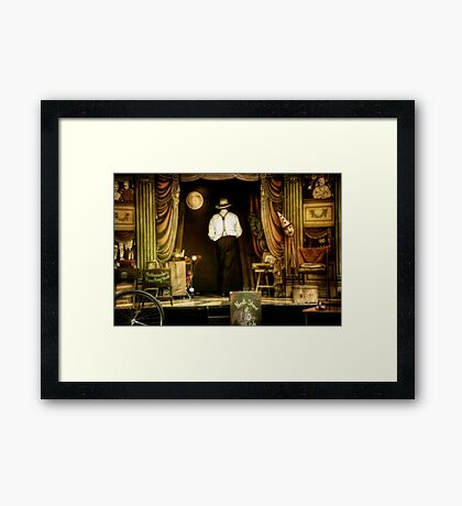 Mr Alexander Framed Print