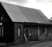 A dark church by Chuck Chisler