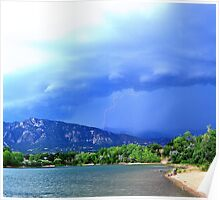 Colorado Lightning Storm Poster