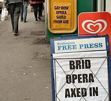 comedy signs  in bridlington by H J Field