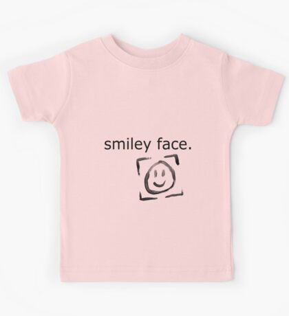Smiley Face. Kids Tee