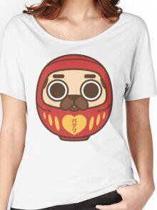Puglie Daruma Women's Relaxed Fit T-Shirt