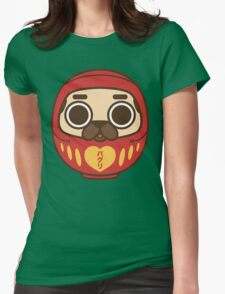 Puglie Daruma Womens Fitted T-Shirt
