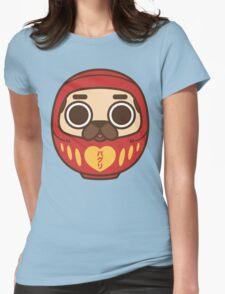 Puglie Daruma Womens Fitted T-Shirt