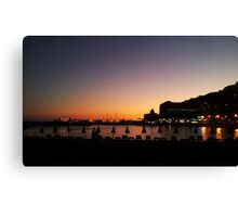 Puerto Rico Sunset Canvas Print