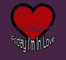 Friday I'm In Love Womens Fitted T-Shirt